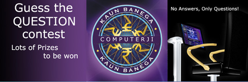 kbc guess the question contest