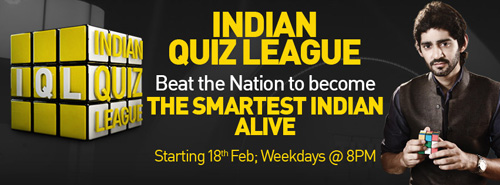 Indian Quiz League NatGeo